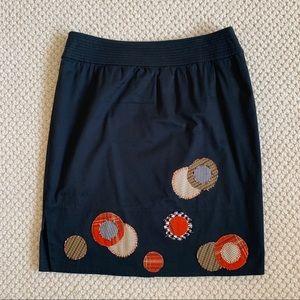 Lithe for Anthropologie Short Pencil Skirt